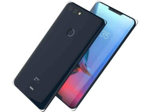 ZTE Iceberg tận dụng kiểu khuyết màn hình tai thỏ ở cả cạnh trên lẫn dưới, thay vì chỉ cạnh trên như iPhone và một số smartphne Android gần đây.