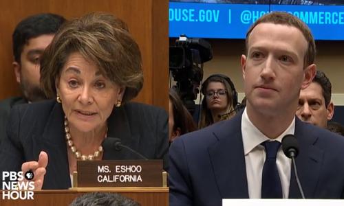 CEO Facebook trả lời chất vấn của Hạ viện Mỹ