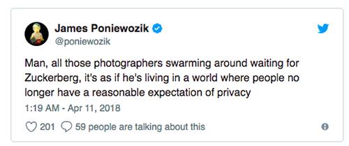 Ý kiến của James Poniewozik trên Twitter.