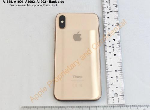 Lộ diện iPhone X màu vàng không được phát hành