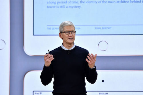 CEO Apple Tim Cook.