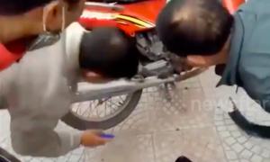 Video bắt rắn trong xe máy được xem nhiều nhất tuần qua