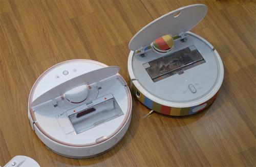 Robot hút bụi phù hợp sử dụng cho các ngôi nhà một đến hai mặt sàn.