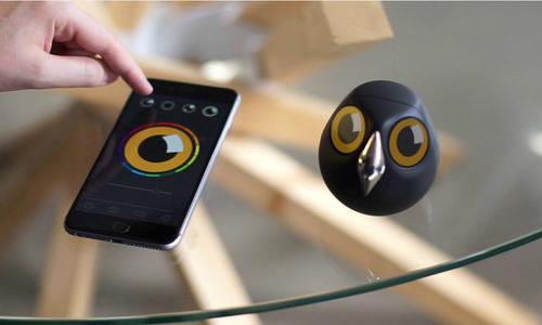 Camera chống trộm thông minh tạo hình cú mèo