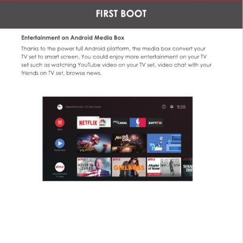 Sản phẩm có thể biến TV thường thành TV thông minh khi kết nối và xuất tín hiệu qua cổng HDMI.