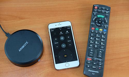 Thiết bị điều khiển TV, điều hoà qua Wi-Fi