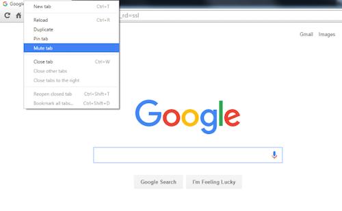 Giao diện trình duyệt Chrome.