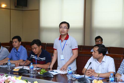 ông Nguyễn Văn Ngọc, quản lý kỹ thuật bộ phận nội dung số của FPT Online