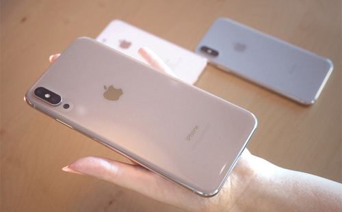 iPhone X Plus lớn hơn hẳn với kích cỡ 6,5 inch, phù hợp nhu cầu xem video, chơi game... trên điện thoại.