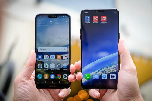 Nova 3e hay F7 vừa có màn ra mắt, mở bán rầm rộ ở Việt Nam không thua kém model cao cấp Galaxy S9.