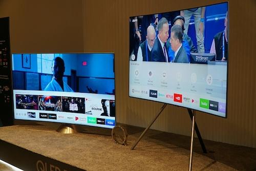 QLED TV 2018 giúp Samsung thu về kết quả tích cực trong tháng đầu bán tại Mỹ.