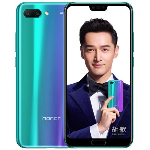 Honor 10 sử dụng công nghệ phủ Aurora Glass.