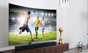 TV cong hay phẳng xem bóng đá thích hơn?