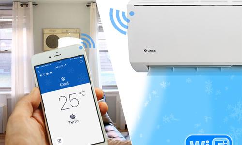 Những điều hòa có Wi-Fi, dùng smartphone điều khiển từ xa