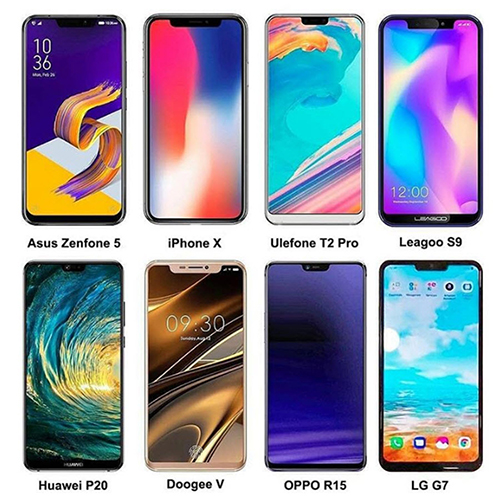 Sau iPhone X, có hàng chục điện thoại Android cũng xuất hiện với tai thỏ.