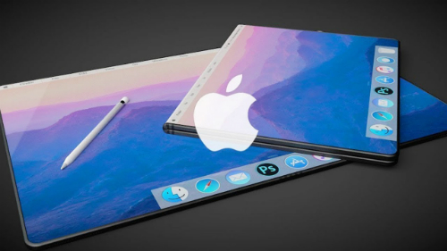 Mẫu concept kết hợp iPad, iMac và MacBook.