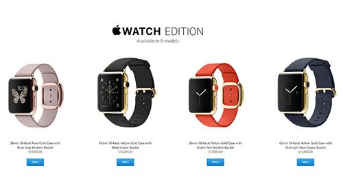 Các mẫu Watch Edition được Apple giới thiệu giá từ 10.000-17.000 USD.
