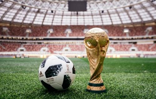 Telstar 18, trái bóng chính thức tại World Cup 2018.