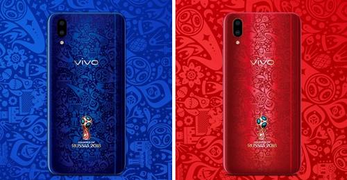 Nhân viên FIFA phải dùng điện thoại Trung Quốc tại World Cup 2018