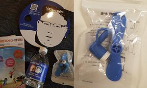 Lo ngại bảo mật từ chiếc quạt USB tại cuộc gặp Trump - Kim