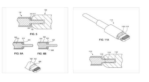 Minh họa cho thiết kế chống nước cổng kết nối của iPhone.