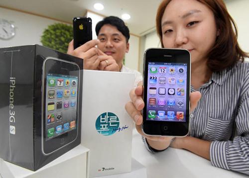 iPhone 3GS mới tinh được bán trở lại