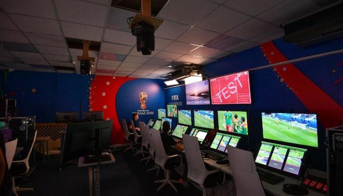 Bên trong trung tâm VAR tại World Cup 2018