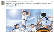 Người châu Á phấn khích với chiến thắng của Nhật Bản tại World Cup