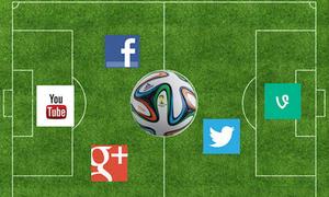 Mạng xã hội như con dao hai lưỡi với các cầu thủ World Cup