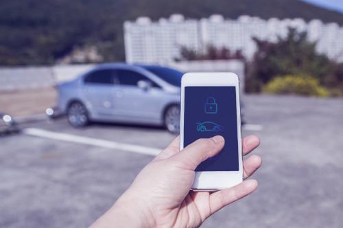 Smartphone trong tương lai sẽ thay thế chìa khóa ôtô của người dùng.