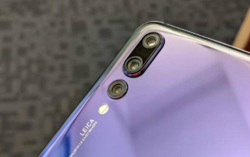 Ba camera sau trên Huawei P20 Pro.