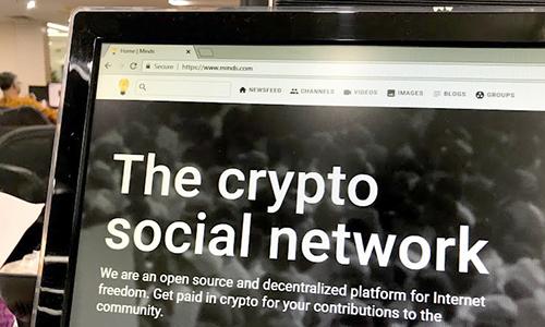 Mạng xã hội Minds.com được chú ý thời gian gần đây.