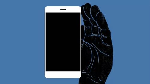 Smartphone đang quay trộm màn hình của người dùng