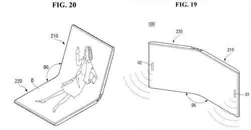 Ý tưởng điện thoại gập của LG.
