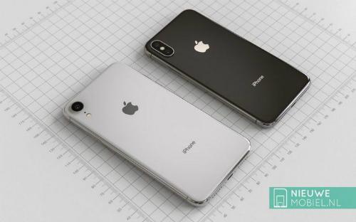 iPhone 6.1 inch với camera đơn và màn hình LCD 6.1 inch nhỉnh hơn iPhone X hiện tại.