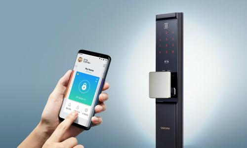 Khóa cửa thông minh mở bằng vân tay, smartphone