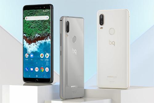 Hai mẫu điện thoại tầm 300 euro (khoảng 8,2 triệu đồng) đang được BQ bán.