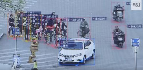 Hệ thống camera giám sát của Trung Quốc có thể cung cấp rất nhiều thông tin về phương tiện, danh tính con người.