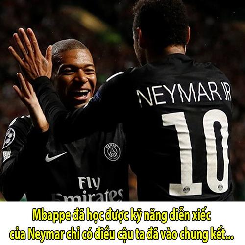 Mbappe bị chế giễu vì ăn vạ giống Neymar - ảnh 7
