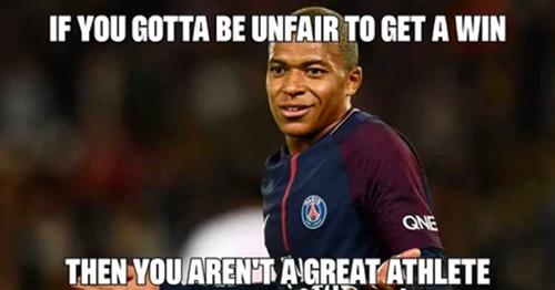 Mbappe bị chế giễu vì ăn vạ giống Neymar - ảnh 1