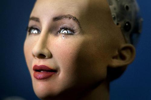 Những điểm rất người của robot Sophia - 5