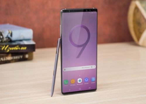 Bản dựng Galaxy Note9 được trang PhoneArena thực hiện.
