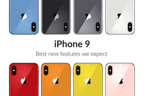Các tùy chọn màu sắc trẻ trung sẽ có trên dòng iPhone giá rẻ.