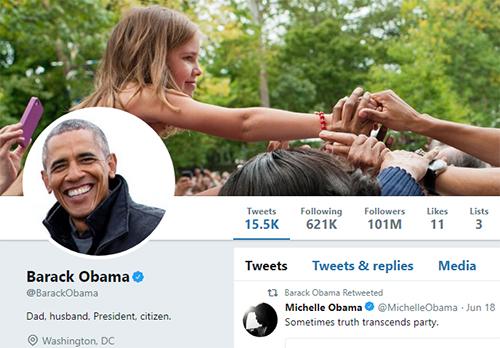 Donald Trump mất 100.000 người theo dõi Twitter trong 15 phút - ảnh 2