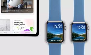 iPad Pro và Apple Watch Series 4 đều có viền mỏng như iPhone X