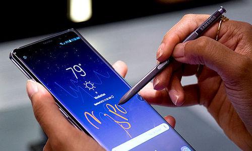 Galaxy Note9 có hiệu năng xử lý vượt xa iPhone X