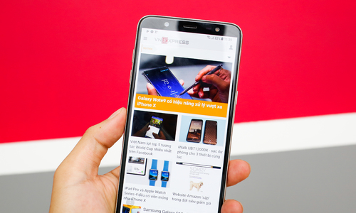 Galaxy J8 về Việt Nam giá 7,3 triệu đồng