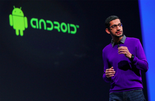 CEO Google Sundar Pichai.