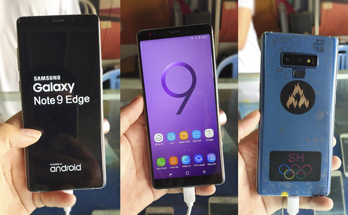 Điện thoại nhái Galaxy Note9, S10 giá 2,7 triệu đồng tại Việt Nam - VnExpress Số Hóa