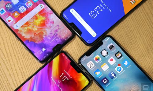 Hơn 86 triệu smartphone 'tai thỏ' bán ra nửa đầu 2018